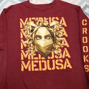Vintage CROOKS & CASTLES Medusa Crew Sweatshirt